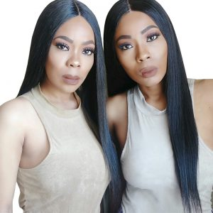 Lace Front Human Hair Wigs For Black Women Straight 250% Density Pre Plucked Hairline With Baby Hair Brazilian Remy Hair