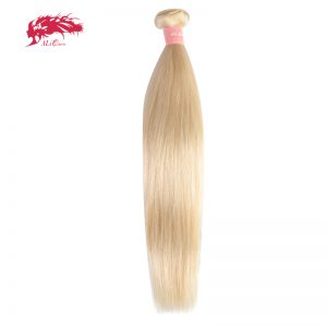Ali Queen Hair 613 Blonde Hair Bundles Straight Human Hair Extension 16inch To 26inch Remy Brazilian Hair Weave Free Shipping