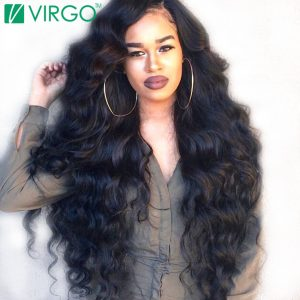 VOLYS Virgo Brazilian Loose Wave Hair 100% Human Hair Weave Bundles Remy Hair 1 Piece/lot Natural Color 1B Can Buy 3/4 Bundles