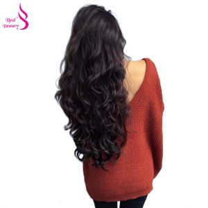 """Real Beauty Brazilian Body Wave Hair Weave Bundles 100% Human Hair Non-Remy Hair Extensions Can Be Dyed 8""""-26"""""""