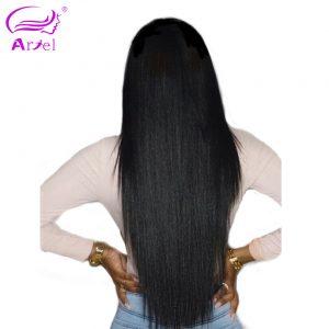 Ariel Brazilian Straight Hair Weave Non Remy Human Hair Bundles Natural Color 100g Bundle Free Shipping
