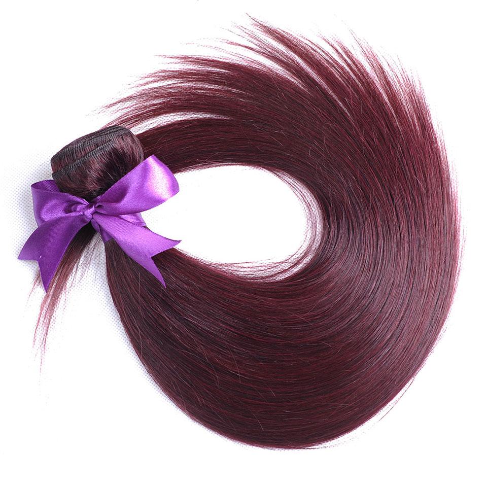Cheap Human Hair Wigs Hair Extensions Burgundy Brazilian Hair