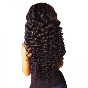 Brazilian Deep Wave Hair Bundles One Piece 100% Human Hair Extensions Mornice 12-26 inch Non-Remy Natural Color Free Shipping