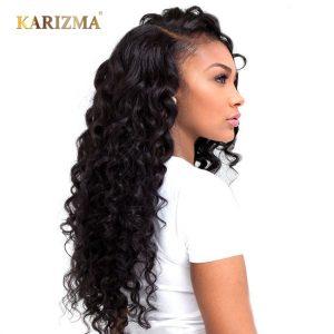 Karizma Brazilian Loose Deep 100% Human Hair Extensions 8-24inch Non Remy Hair Weave Bundles 1Piece Free Shipping