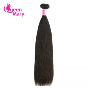 Queen Mary Peruvian Straight Hair Weave 1 Piece Non-Remy Hair Weaving 100% Human Hair Bundles Natural Color Shipping Free