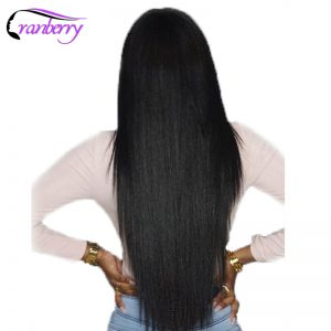Cranberry Hair Peruvian Hair Bundles Straight Human Hair Bundles 100g/pc Natural Hair Extensions Non Remy Human Hair Weaving