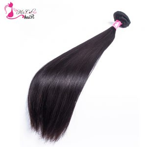 Malaysian Straight Hair Ms Cat Hair Products 1 Bundle Natural Black Remy Human Hair Extensions Free Shipping
