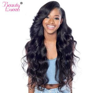 Malaysian Body Wave Bundles Hair Extension Human Hair Bundles Thick And Full Can Be Dyed Raw Remy Hair Weave Beauty Lueen