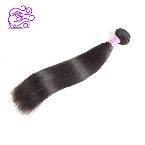 "Ashimary Hair Products Malaysian Straight Remy Hair 1B Human Hair Bundles 1Piece 8""-28""Inch Malaysian Hair Weaving Free Shipping"