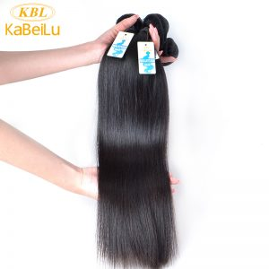 "KBL Hair Product Malaysian Virgin Hair Natural Straight 1 Bundle Extensions 100% Unprocessed Human Hair Weave 12""-26"""
