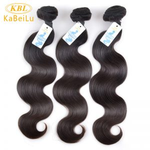 KBL Unprocessed Malaysian Body Wave 100% Virgin Human Hair Extension Natural Color Hair Weave Bundles 12-26 Inches