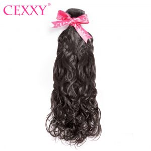 CEXXY Malaysian Virgin Hair Water Wave Nature Color 100% Human Hair Bundles 12-28 inch Free Shipping