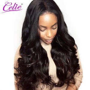 Celie Hair Malaysian Virgin Hair Body Wave 100% Human Hair Bundles Unprocessed Hair Weave Bundles Natural Color Can be Dyed