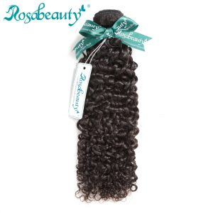Rosa Beauty Malaysian Kinky Curly Virgin Hair 100% Human Hair Weave Bundles Unprocessed Hair Weaving Natural Color Free Shipping