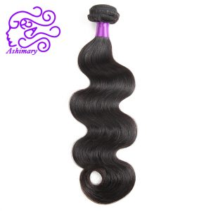 "Ashimary Malaysian Body Wave Hair Weave Natural Color Non-Remy Hair Bundles 8""-28"" Inch 100% Human Hair Weaving Free Shipping"