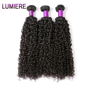 "Lumiere Hair Malaysian Kinky Curly Hair 100% Human Hair Weave Bundles 10""-28"" Non Remy Hair Extensions 1 Piece Free Shipping"