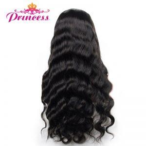 Beautiful Princess Malaysian Body Wave 100% Human Hair Bundles Natural Black 10''-28''Non-Remy Hair