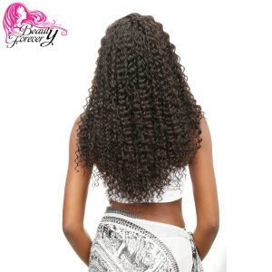 Beauty Forever Malaysian Deep Wave Hair Weaving Non-Remy Hair 100% Human Hair Weave Bundles 1 Piece Natural Color 12-26in