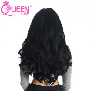 Queen Like Hair Products 1 Piece 100% Human Hair Bundles 8-28 Inch Non Remy Hair Weave Natural Color Malaysian Body Wave Bundles