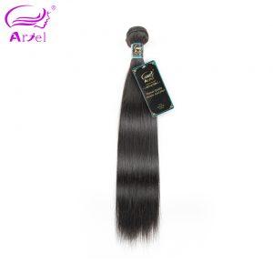 "Ariel Hair Silky Straight Weave Human Hair Indian Hair Bundles 100% Remy Hair Natural Color 8""-28"" Free Shipping"