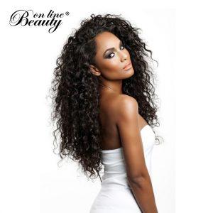 Water Wave Bundles Indian Hair Extensions Natural Color Human Hair Bundles Weave Beauty On Line Remy Hair 3/4 Bundles Full Head