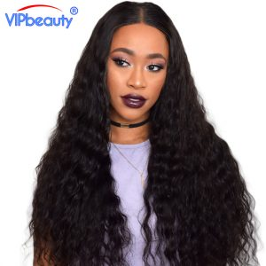 VIP Beauty Indian water wave virgin hair extension ,Unprocessed human hair weave bundle ,natural color 1b 1pcs only can be dyed
