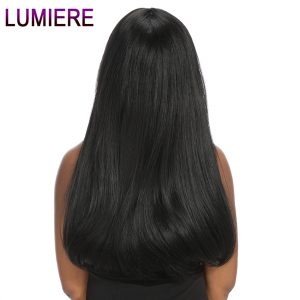 "Lumiere Hair Indian Straight Hair 1 Bundle 100% Human Hair Bundles 10""-28"" Natural Color Non Remy Hair Weave Double Wefts"