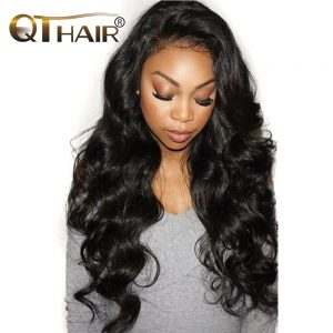 Indian Body Wave Bundles 100% Human Hair Bundles 1 Pcs Non-Remy Hair Extensions Weave 8-28inch Can Mix Length QThair Fast  Ship