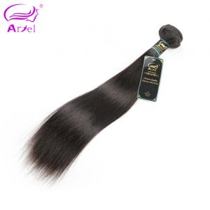 "Ariel Hair Products Remy Peruvian Hair Bundles Straight 10""-28"" Natural Color Can Be Dyed & Bleached Human Hair Weave"