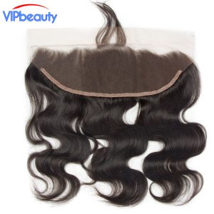 body wave Pre plucked 13x4 ear to ear lace frontal closure remy hair vipbeauty human hair extension natural color
