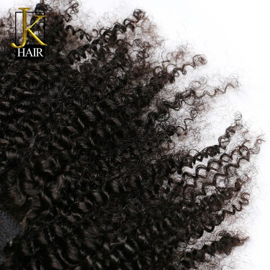 JK Hair Mongolian Afro Kinky Curly Weave Remy Hair Clip In Human Hair Extensions Natural Color Full Head 8Pcs/Set 120G Ship Free