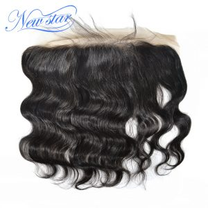 New Star Lace Frontal 13x4 Brazilian Body Wave 100% Virgin Human Hair Free Part Natural Color Bleached Knots With Baby Hair