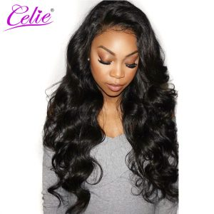 Celie Hair Brazilian Virgin Hair Body Wave Natural Color 100% Human Hair Weave Bundles 10-28 Inch Funmi Hair Extension Bundles