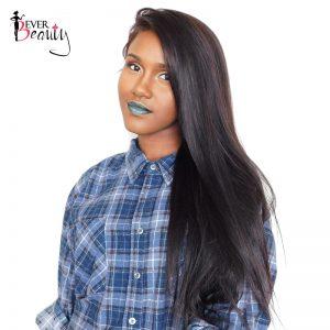 Straight Brazilian Virgin Hair Bundles 100% Human Hair Weaving Extensions 1 piece Natural Black 10-26inch
