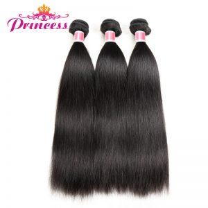 """Beautiful Princess Malaysian Straight Hair Non-remy Hair Natural Color 8""""-28"""" Human Hair Weaving Bundles Free Shipping"""