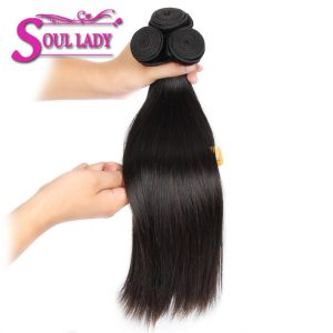 Soul Lady Product Malaysian Straight Hair Natural Color 8-28 inches Non-Remy Hair 1 Bundle Only 100% Human Hair Extensions