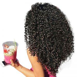 Mornice Hair Malaysian Curly Hair Weave Bundles 100% Human Hair Bundles Natural Hair Color Non Remy Hair Extensions 8-28 inch