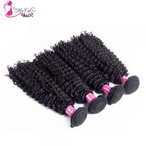 1 Bundle Indian Kinky Curly 100% Human Hair Ms Cat Hair Products Natural Black Free Shipping Non Remy Hair Weaving
