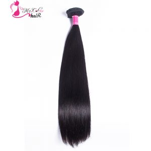 Inidan Straight Hair Ms Cat Hair Products Natural Color 100% Human Hair Weaving Non Remy 1 Piece Hair Extension