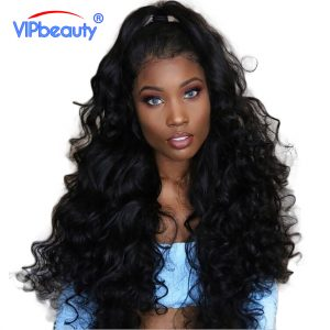 Vip beauty Indian Body Wave Human Hair Bundles 1 Piece Non Remy Hair Extensions Natural Color 1B 10-28 Inch Free Shipping