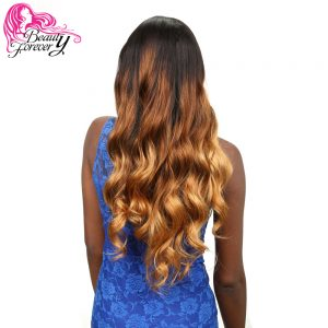Beauty Forever Ombre Malaysian Body Wave Hair 100% Human Hair Weaving Non-remy Hair T1B/4/27 Color 1 Piece Free Shipping