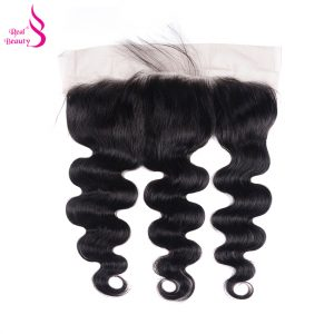 Real Beauty Ear To Ear Lace Frontal Closure Body Wave With Baby Hair Malaysian Lace Closure Remy Human Hair