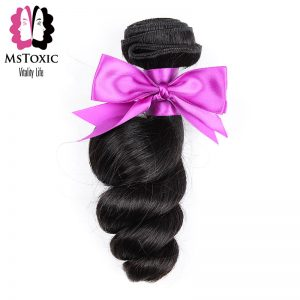 Mstoxic Brazilian Non Remy Loose Wave Hair Extensions 100% Human Hair Weave Bundles Hair Can Buy 3 Pieces 8-28inch Natural Color