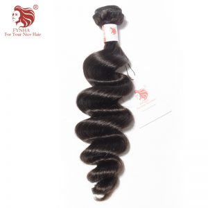 [FYNHA] Brazilian Loose Wave Remy Hair Natural Color 100% Human Hair Bundles 10-28 inch Free Shipping