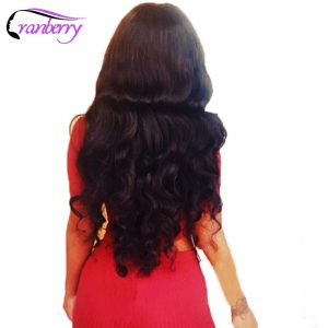 Cranberry Hair Store Malaysian Loose Wave Human Hair Bundles 100% Human Hair Weave NonRemy Hair Extension Tissage Cheveux Humain