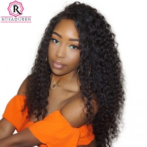 Deep Wave Brazilian Hair Weave Bundles 100% Human Hair Bundle Rosa Queen Hair Products 1pc Can Buy 3 / 4 pcs Remy Hair Extension