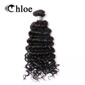 Chloe Brazilian Deep Wave Remy Hair Natural Color 100% Human Hair Bundles 8-30 inch Free Shipping