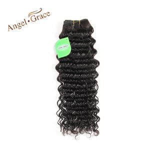 ANGEL GRACE HAIR Peruvian Remy Hair Deep Wave 100g/PC Natural Color 100% Human Hair Weave Free Shipping