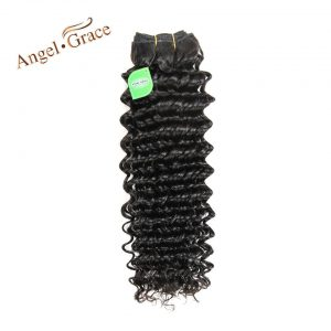 ANGEL GRACE Hair Products Malaysian Hair Bundles 1 Piece Only Deep Wave Hair 100g/piece Natural Color Remy Hair Free Shipping