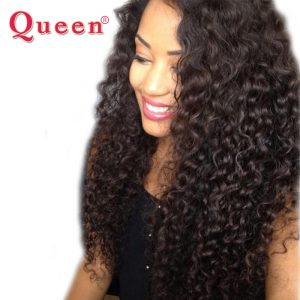 Queen Hair Products Malaysian Deep Wave Bundles 100% Remy Human Hair Extensions 1PC Hair Weaving can buy 3 or 4 bundles Weave